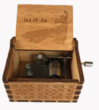 Load image into Gallery viewer, Frozen, Let It Go Wooden Music Box