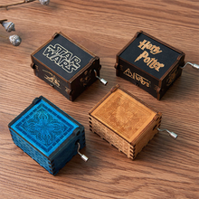 Load image into Gallery viewer, Harry Potter Wooden Music Box