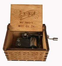 Load image into Gallery viewer, Titanic, My Heart Will Go On Wooden Music Box