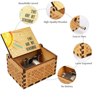 Titanic, My Heart Will Go On Wooden Music Box