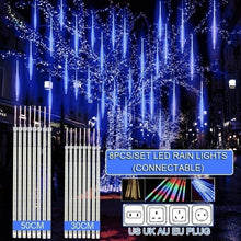 Load image into Gallery viewer, 30cm/50cm Waterproof Meteor Shower/Rain Tube LED String Lights
