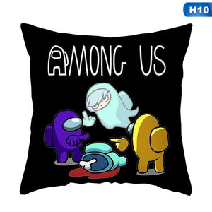 Among Us Throw Pillow Case