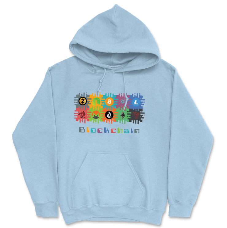 Blockchain Hoodie - Black Cat Crypto Clothing