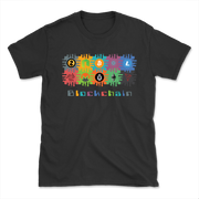 Blockchain Shirt | Square - Black Cat Crypto Clothing
