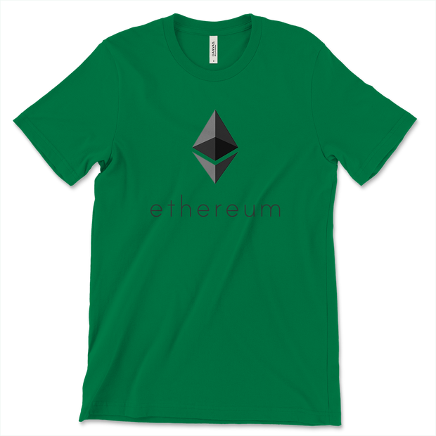 Classic Ethereum Shirt - Black Cat Crypto Clothing