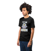 To The Moon Dogecoin Shirt UFO - Black Cat Crypto