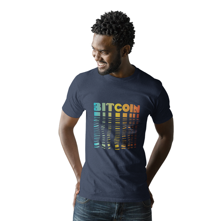 Bitcoin Fade Tee - Black Cat Crypto