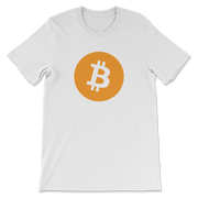 Simple Bitcoin Shirt - Black Cat Crypto Clothing