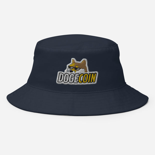 Dogecoin Bucket Hat - Black Cat Crypto