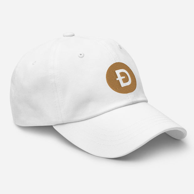 Dogecoin Dad hat - Black Cat Crypto