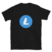 Original Litecoin Shirt - Black Cat Crypto Clothing