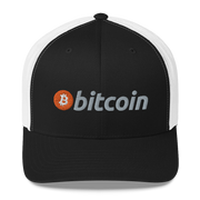 Classic Bitcoin Hat Trucker Cap - Black Cat Crypto