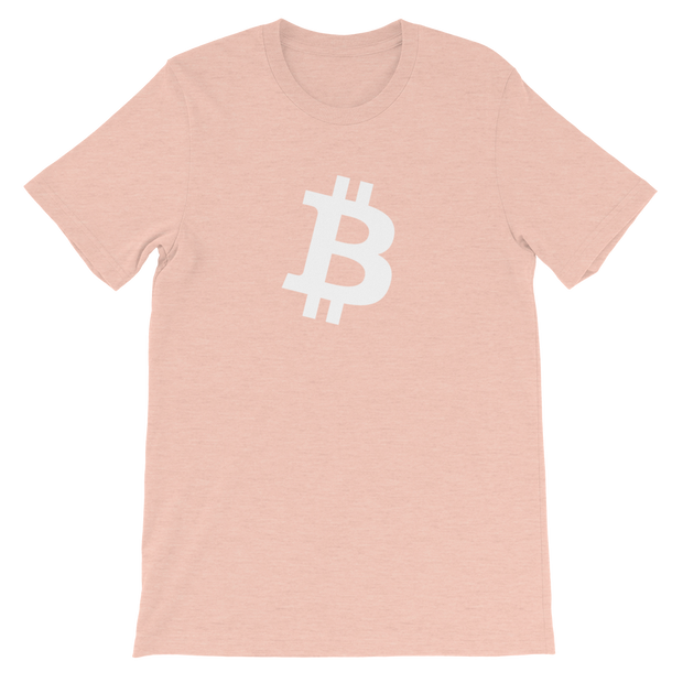 Bitcoin B Shirt - Black Cat Crypto Clothing