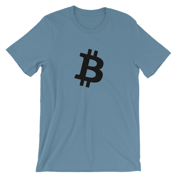 Bitcoin B Shirt 2 - Black Cat Crypto Clothing