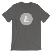 Litecoin Shirt - Black Cat Crypto Clothing