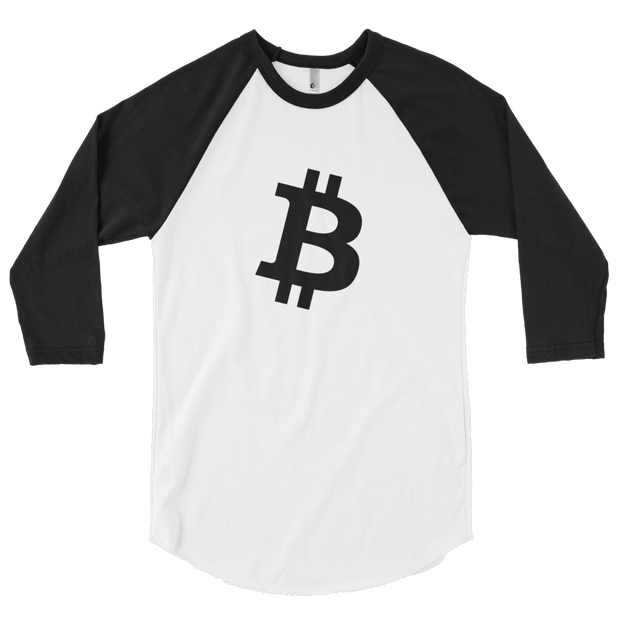 Bitcoin Long Sleeve - Black Cat Crypto Clothing