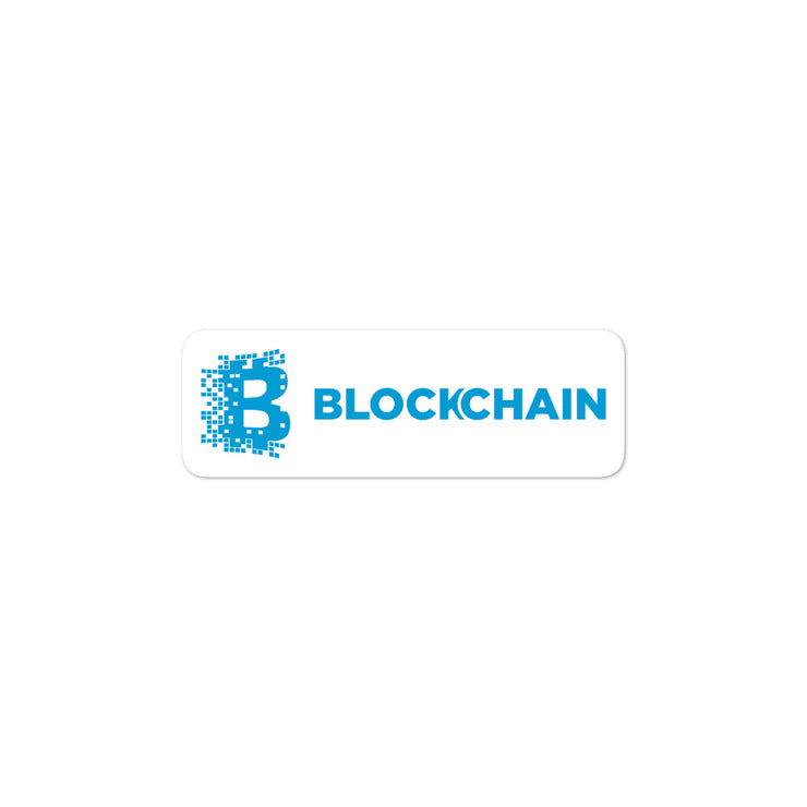 Blockchain Sticker-bitcoin-blackcatcrypto.com