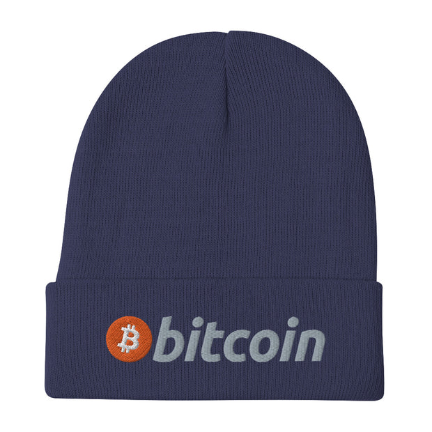 Bitcoin Beanie B - Black Cat Crypto