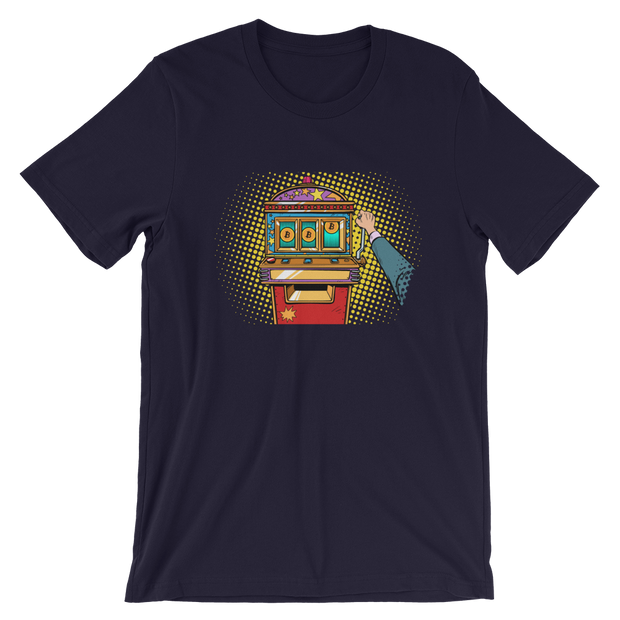 Jackpot | Bitcoin Shirt - Black Cat Crypto Clothing