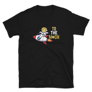 Dogecoin Rocket Man Shirt - Black Cat Crypto