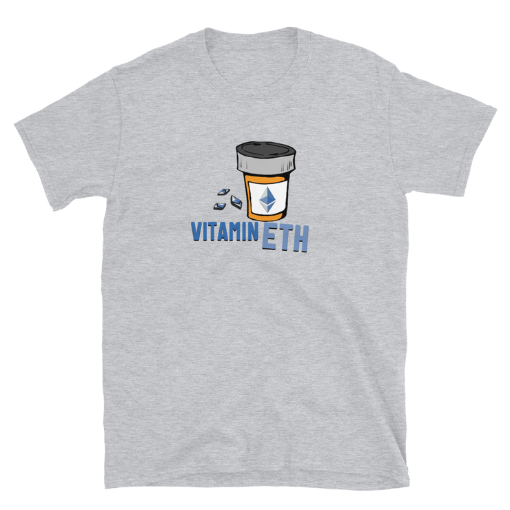 Vitamin ETH Shirt - Black Cat Crypto