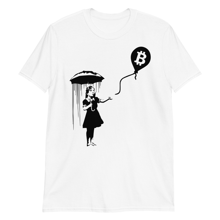 Girl Under The Umbrella Silhouette - Black Cat Crypto