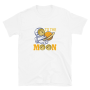 Dogecoin To The Moon Shirt - Black Cat Crypto
