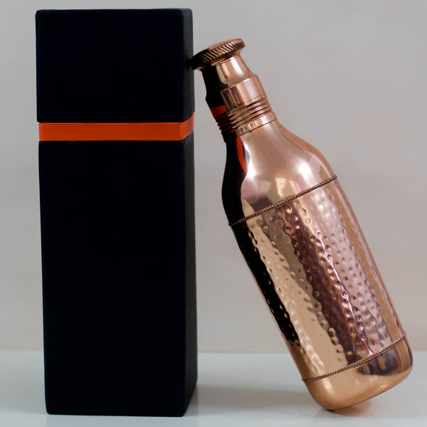 Copper Champagne Bottle