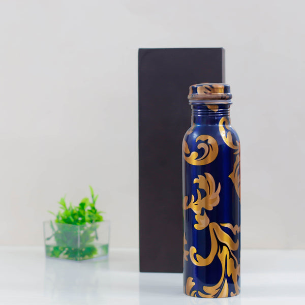 Copper Printed Plain Bottle