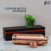 Copper Plain Barrel Bottle