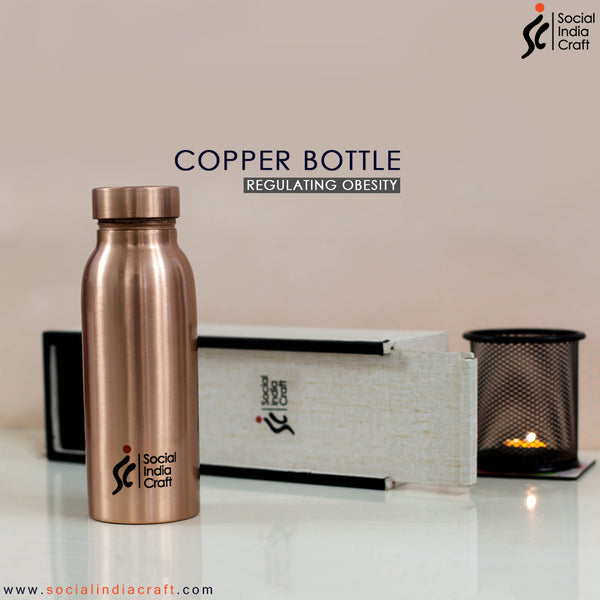 Copper Plain Matte Mini Bottle