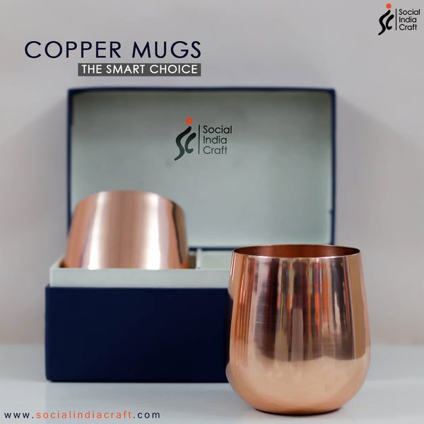 Copper Glass Two Piece Set