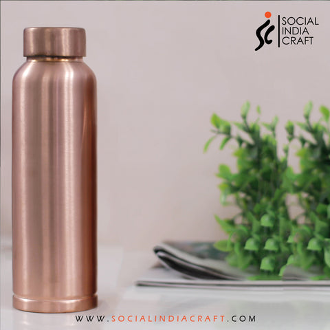 Copper Plain Matte Bottle