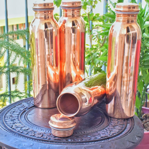 Copper Plain Bottle