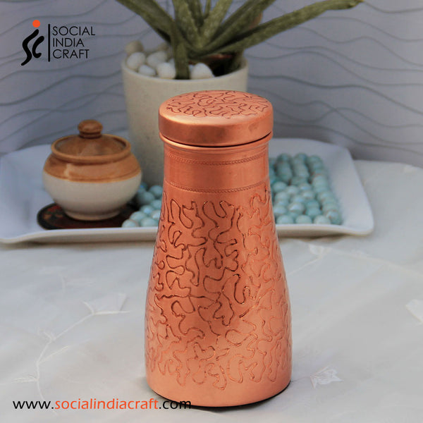 Designer Copper Carafe