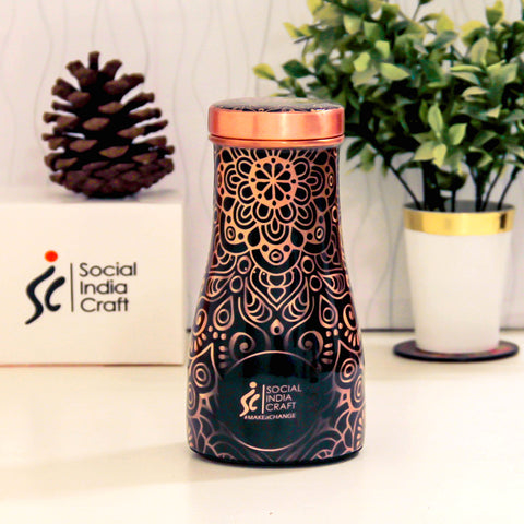 Royal Mandala Carafe