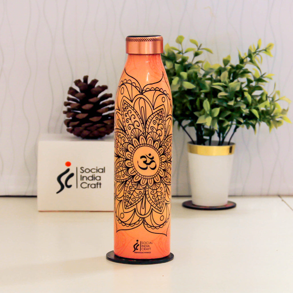 Harmony Mandala Sleek Bottle