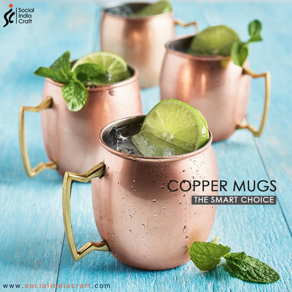 Copper Plain Mug
