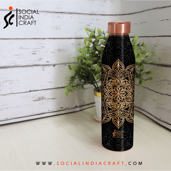 Copper Designer Bottle