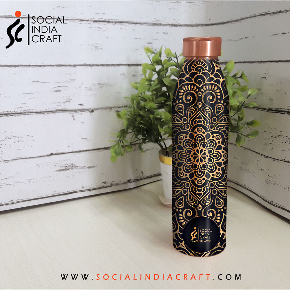 Royal Mandala Sleek Bottle