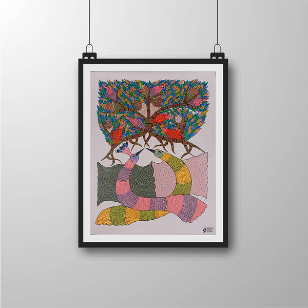 Symphony of Colours | Gond Art - Social India Craft