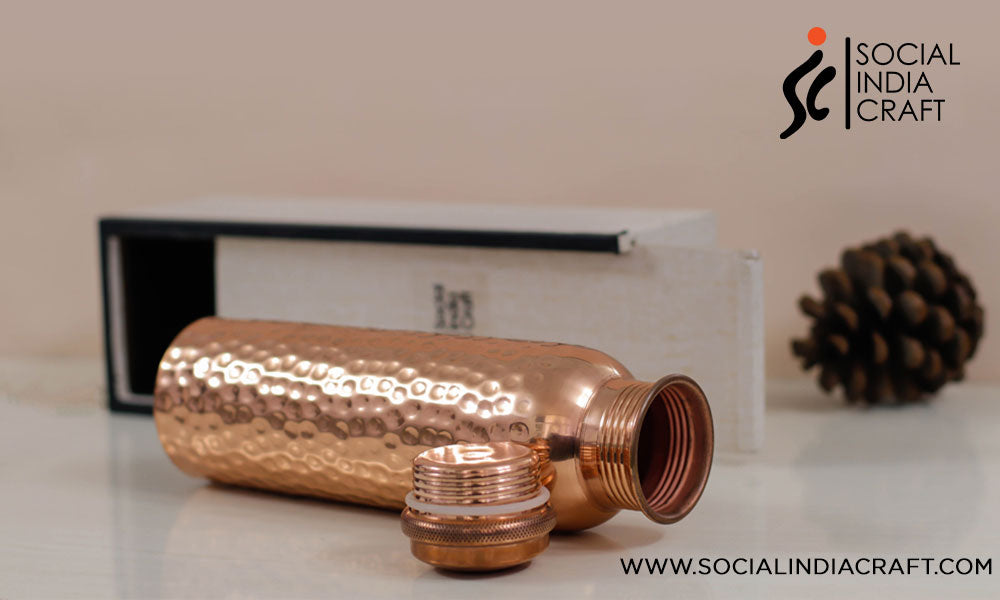 Handmade Copper Bottle Collections