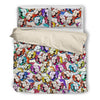 American Bulldog Bedding Set 309a