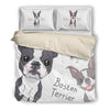 Boston Terriers Bedding duvet 239c