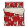 Greyhound  1810 Christmas Bedding duvet