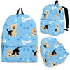 Yorkie Backpack Bag A43DL