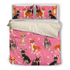Chihuahua Bedding Set White Ja04TP