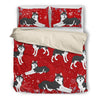 Husky Christmas Bedding Set 1810