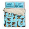 Doberman Bedding Set B107