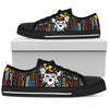 Yorkie women's Low Top Canvas Shoe Black 293 NHH